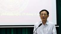 Đảng ủy Khối CCQ tỉnh tổ chức hội nghị báo cáo viên tháng 8
