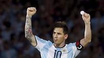 Messi vẫn đá cho đội tuyển quốc gia dù chấn thương