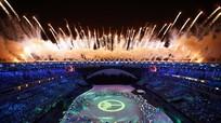Những hình ảnh đặc sắc của lễ khai mạc Olympic Rio 2016