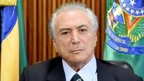 Tổng thống Brazi Michel Temer tuyên thệ nhậm chức