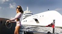 Nội thất du thuyền hơn 300 triệu đô của tỷ phú Nga