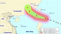 Siêu bão mới Meranti đang tiến vào Biển Đông