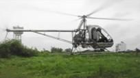Thán phục máy bay tự chế của nông dân Bình Dương cất cánh