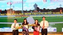 Bệnh viện Ung bướu Nghệ An tổ chức hội nghị khoa học lần thứ 2