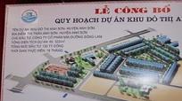 Dự án khu đô thị mới Anh Sơn đang được tiếp tục triển khai