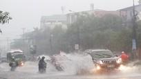 Ngày 20/9, các tỉnh Nghệ An đến Quảng Ngãi có mưa rất to