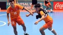 Tuyển futsal Việt Nam chỉ được tập một buổi trước trận gặp Nga