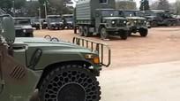 Trang bị lốp chống đạn, bộ binh Nga thêm tự tin