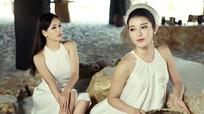 Vẻ đẹp hút hồn mỹ nhân Việt với vai trần mong manh