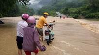 Cảnh báo xuất hiện lũ ở Nghệ An