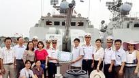 Ban Tuyên giáo Tỉnh ủy thăm và làm việc tại Bộ Tư lệnh vùng 1 Hải quân