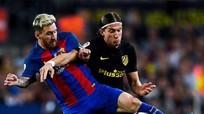Bộ ba MSN ngừng ghi bàn, Barca chia điểm cho Atletico