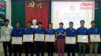 Qùy Châu tổng kết chiến dịch Thanh niên tình nguyện hè 2016