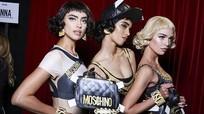 Irina Shayk và dàn chân dài gợi cảm đọ sắc trong show diễn Moschino