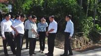 HĐND tỉnh giám sát: Xây dựng nông thôn mới ở Nam Đàn chưa bền vững