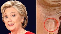 Bà Clinton có đeo tai nghe bí mật trong cuộc đối đầu với Trump?