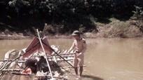 Bắt giữ vụ vận chuyển 3,5 mét khối gỗ lậu trôi sông