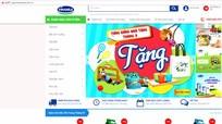 Vinamilk ra mắt trang bán hàng online