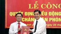 Trao quyết định bổ nhiệm Chánh Văn phòng Tỉnh ủy Nghệ An
