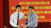 Con Cuông có tân Bí thư Huyện ủy