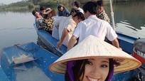 Đào Thị Hà quay hình cùng S-Việt Nam