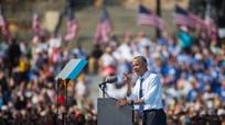 Tổng thống Obama tiến hành vận động cho Hillary Clinton