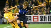 Australia và Nhật Bản bất phân thắng bại ở vòng loại World Cup