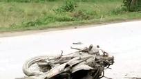 Ô tô va chạm xe máy, một phụ nữ tử vong tại chỗ