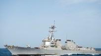Mỹ dọa đáp trả vụ tàu chiến suýt trúng tên lửa từ Yemen