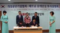 Nghệ An sẽ hợp tác đầu tư với Khu Công nghiệp Kaesong, Hàn Quốc