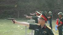 Quân khu 4: Hội thi điều lệnh, bắn súng năm 2016