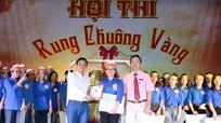 Nữ sinh Trường THPT Lê Hồng Phong dành giải Nhất cuộc thi Rung chuông vàng