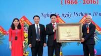 Phó Chủ tịch Quốc hội Uông Chu Lưu dự lễ Kỷ niệm 50 thành lập Trường THPT chuyên Đại học Vinh