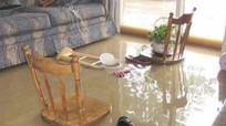 Cách dọn và khử trùng nhà cửa sau mưa ngập