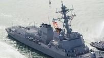 Ba chiến hạm Mỹ bị tên lửa tấn công cùng lúc