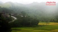 Vùng đất lạnh nhất xứ Nghệ vào thu