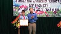 Học sinh mồ côi mẹ giành giải Nhất cuộc thi 'Thư gửi mẹ hiền'