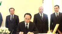 Chủ tịch nước viếng Nhà vua Thái Lan Bhumipol Adulyadej