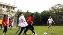 Giải bóng đá nam nữ Báo Nghệ An chào mừng ngày Phụ nữ Việt Nam