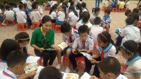 Gần 550 học sinh Nghi Lộc tham gia ngày hội đọc sách
