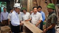 Chủ tịch UBND tỉnh kiểm tra công trình, dự án trọng điểm tại Thái Hòa