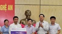 BIDV ủng hộ Nghệ An 300 triệu đồng khắc phục thiệt hại do lũ lụt