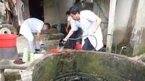 Hưng Nguyên: Tập trung xử lý môi trường vùng ngập nặng