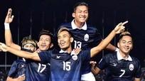 Campuchia chính thức đối đầu Việt Nam tại AFF Cup