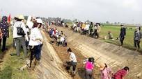 Quỳnh Lưu hoàn thành 70% khối lượng làm giao thông thủy lợi