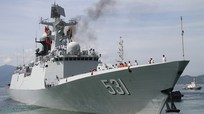 Chiến hạm Trung Quốc cập cảng Cam Ranh thuộc lớp tàu hộ vệ mạnh nhất