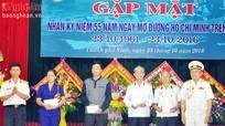 Kỷ niệm 55 năm ngày mở đường Hồ Chí Minh trên biển