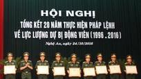 Quân khu 4: Tặng Bằng khen cho 55 tập thể và 34 cá nhân