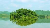 Vẻ đẹp hoang sơ, thơ mộng của hồ thủy lợi Khe Đá
