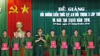 50 học viên được phong quân hàm sĩ quan dự bị